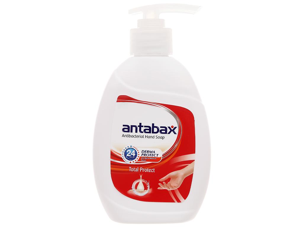 Nước rửa tay kháng khuẩn Antabax bảo vệ da chai 220ml 1