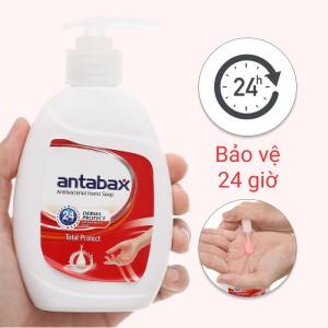 Nước rửa tay kháng khuẩn Antabax bảo vệ da chai 220ml
