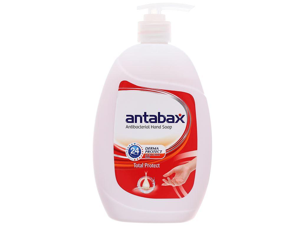 Nước rửa tay kháng khuẩn Antabax bảo vệ da chai 500ml 1