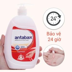Nước rửa tay kháng khuẩn Antabax bảo vệ da chai 500ml