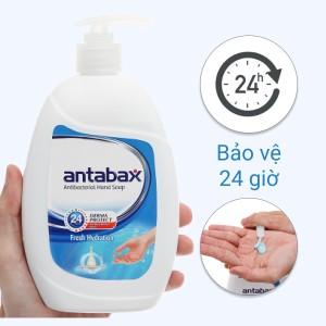Nước rửa tay Antabax sảng khoái 500ml