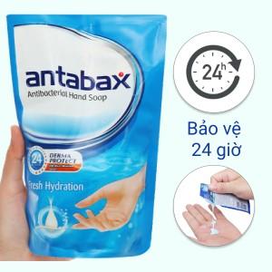 Nước rửa tay kháng khuẩn Antabax sảng khoái túi 450ml