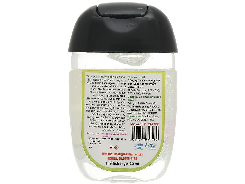 Dung dịch rửa tay nhanh Cleanwel New BTS chai bầu 30ml 2