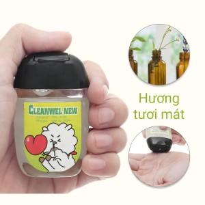 Dung dịch rửa tay nhanh Cleanwel New BTS chai bầu 30ml