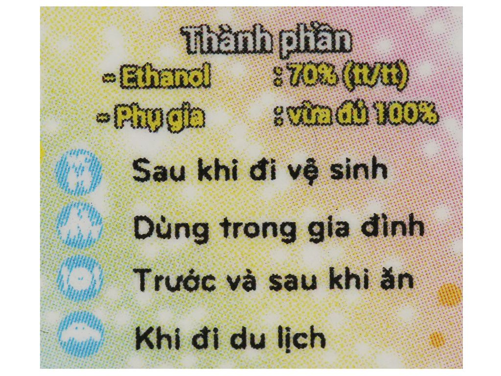 Dung dịch rửa tay nhanh Cleanwel New (vỏ sillicon cartoon) chai tam giác 30ml 3