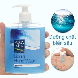 Nước rửa tay Aqua Vera dưỡng da nước biển 500ml
