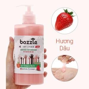 Sữa rửa tay sinh học Bazzle hương dâu chai 500g