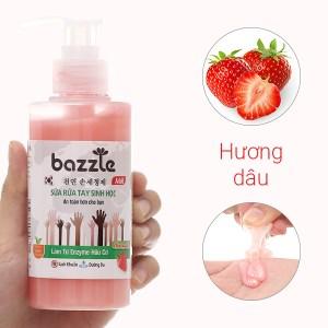 Sữa rửa tay sinh học Bazzle hương dâu chai 200g
