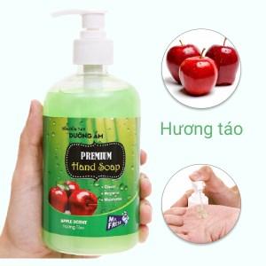 Sữa rửa tay dưỡng ẩm Mr.Fresh hương táo chai 500g