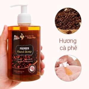 Nước rửa tay thảo mộc Mr.Fresh hương cà phê chai 500g