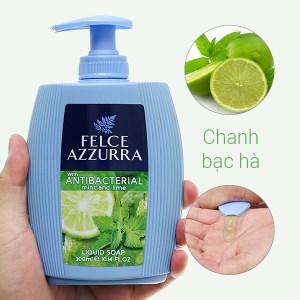Sữa rửa tay hương nước hoa Felce Azzurra chanh bạc hà chai 300ml