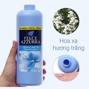 Sữa rửa tay hương nước hoa Felce Azzurra xạ hương trắng chai 750ml