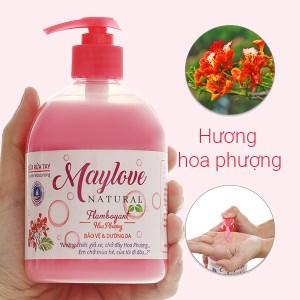 Sữa rửa tay Maylove hoa phượng chai 500ml