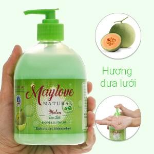 Sữa rửa tay Maylove hương dưa lưới chai 500ml