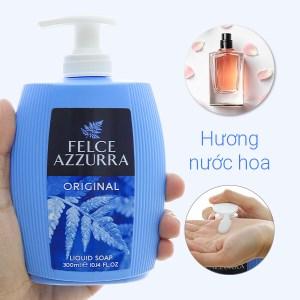 Sữa rửa tay hương nước hoa Felce Azzurra cổ điển chai 300ml