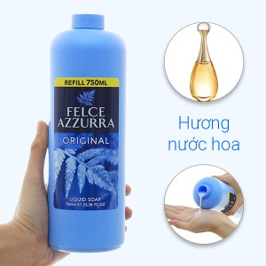 Sữa rửa tay hương nước hoa Felce Azzurra cổ điển chai 750ml