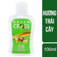 Gel rửa tay Green Cross Kids Tutti Frutti 100ml