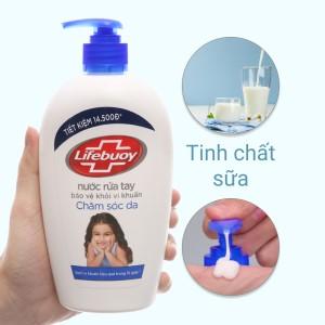 Nước rửa tay Lifebuoy bảo vệ da chai 493ml