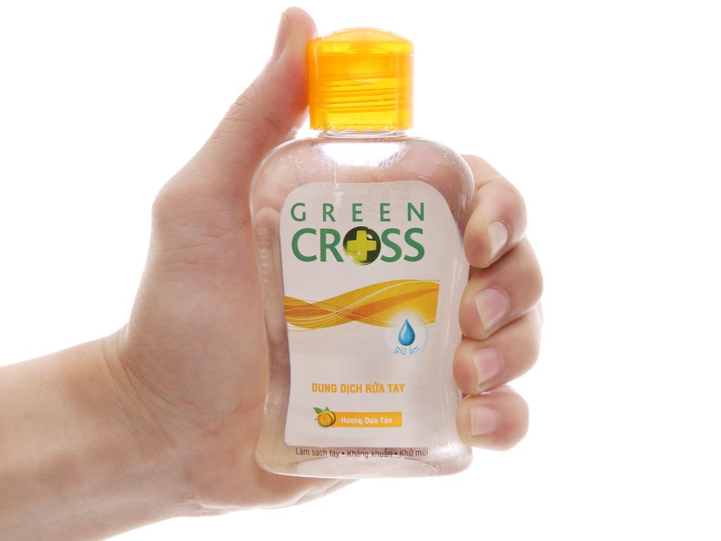 Gel rửa tay khô Green Cross hương dưa táo chai 100ml 4