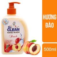 Nước rửa tay Dr. Clean hương Đào chai 500ml