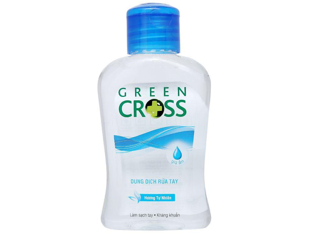 Dung dịch rửa tay khô Green Cross hương tự nhiên chai 100ml 2