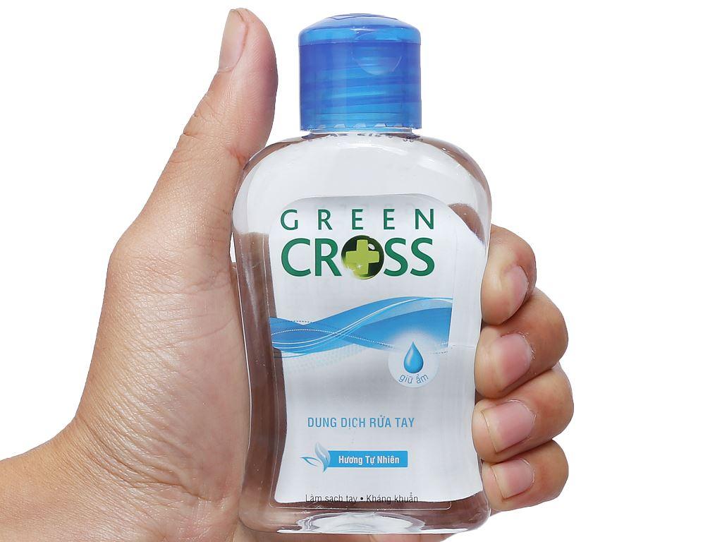 Dung dịch rửa tay khô Green Cross hương tự nhiên chai 100ml 5