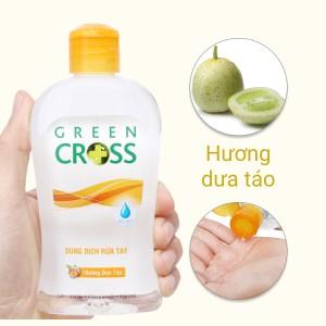 Dung dịch rửa tay khô Green Cross hương dưa táo chai 250ml