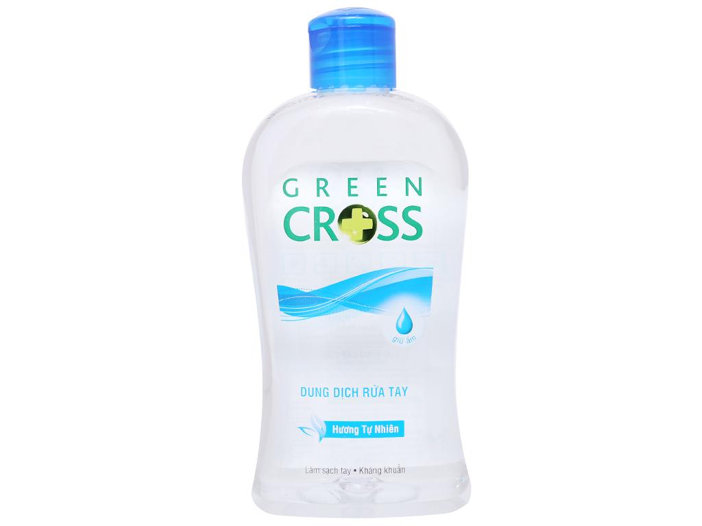 Dung dịch rửa tay khô Green Cross hương tự nhiên chai 250ml 2