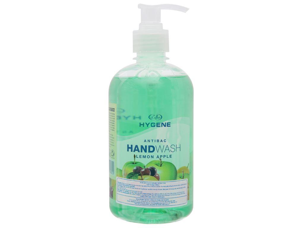 Nước rửa tay L'Affair dưỡng da hương táo chanh chai 500ml 1