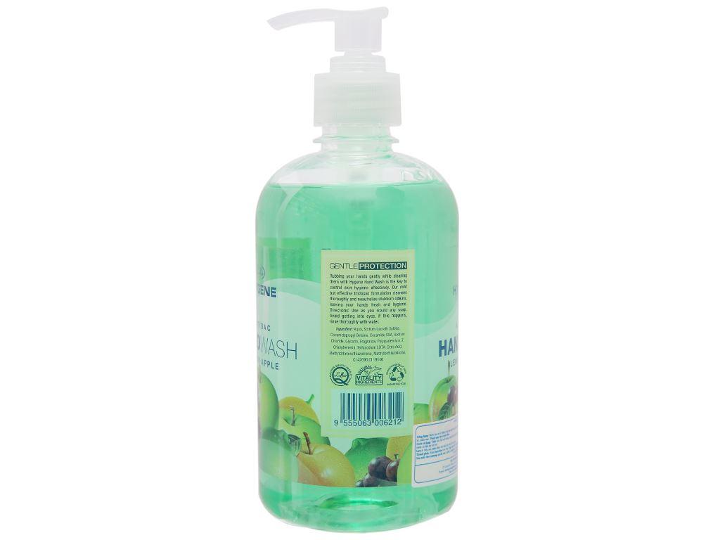 Nước rửa tay L'Affair dưỡng da hương táo chanh chai 500ml 2