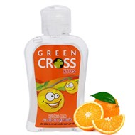 Gel rửa tay khô Green Cross Kids hương Cam 100ml