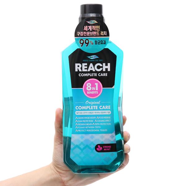 Nước súc miệng REACH cực the mát 760ml