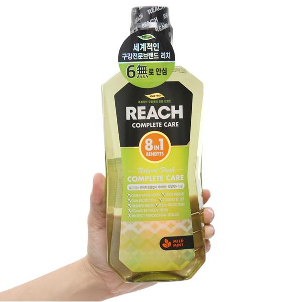 Nước súc miệng REACH the mát 760ml