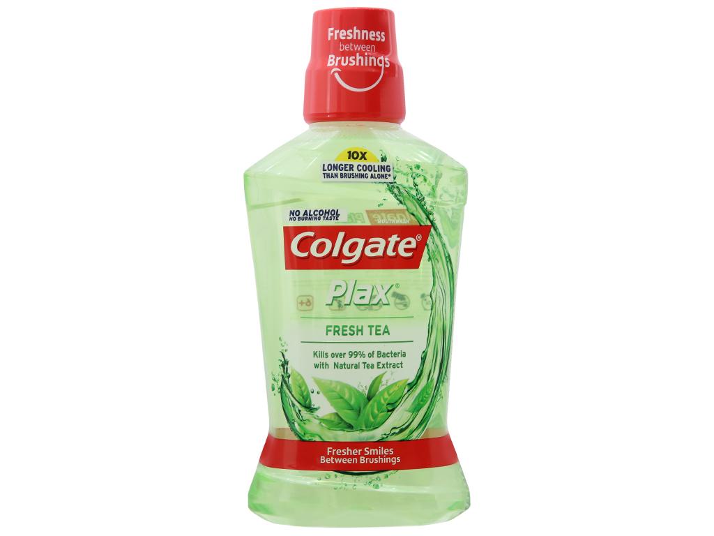 Nước súc miệng Colgate Plax Fresh Tea 500ml 2