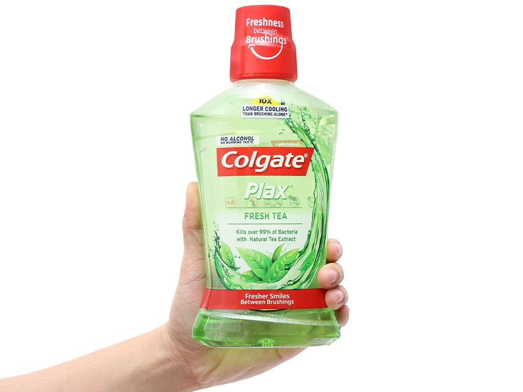 Nước súc miệng Colgate Plax Fresh Tea 500ml 4