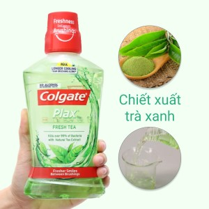 Nước súc miệng Colgate Plax Fresh Tea 500ml