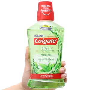 Nước súc miệng Colgate trà xanh 500ml