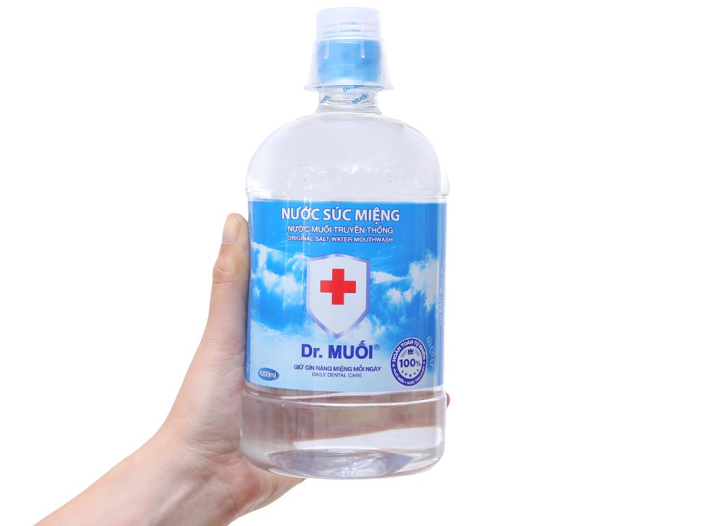 Nước súc miệng truyền thống Dr.Muối 1 lít 4