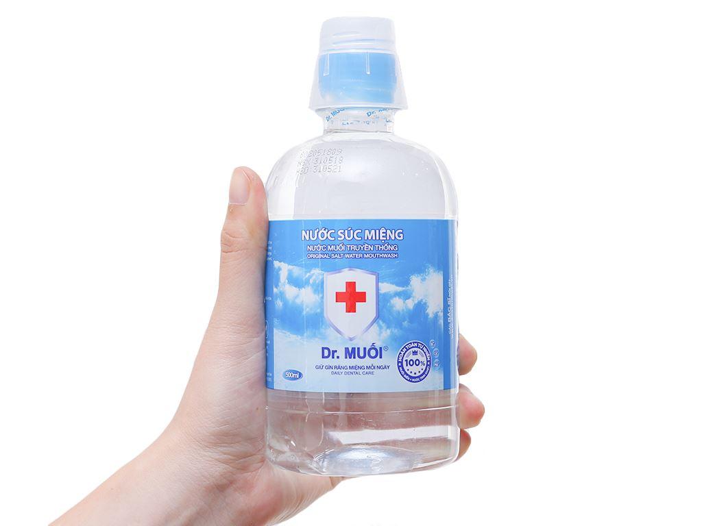 Nước súc miệng Dr. Muối Truyền Thống 500ml 4