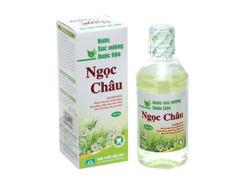 Nước súc miệng dược liệu Hoa Linh 350ml 2