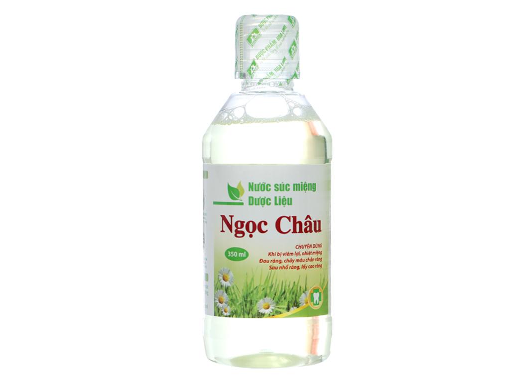 Nước súc miệng dược liệu Hoa Linh 350ml 3