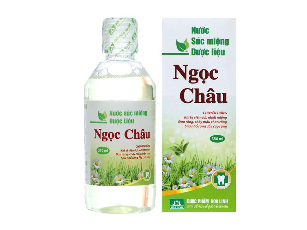 Nước súc miệng dược liệu Hoa Linh 350ml 4