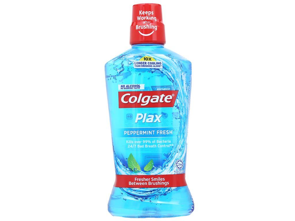 Nước súc miệng Colgate Plax Peppermint Fresh 750ml 1