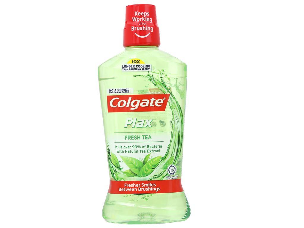 Nước súc miệng Colgate Plax Fresh Tea 750ml 1