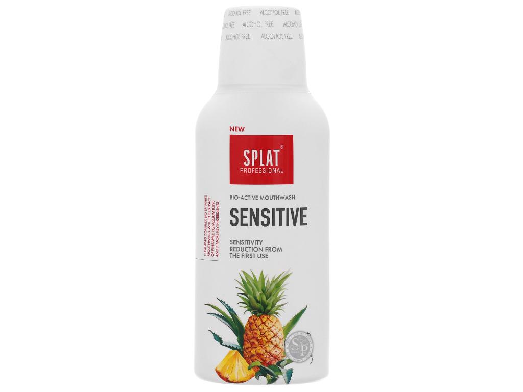 Nước súc miệng thảo mộc Splat chăm sóc răng nhạy cảm 275ml 1