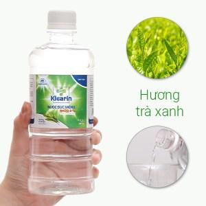 Nước muối súc miệng Klearin Nacl 0.9% trà xanh 550ml
