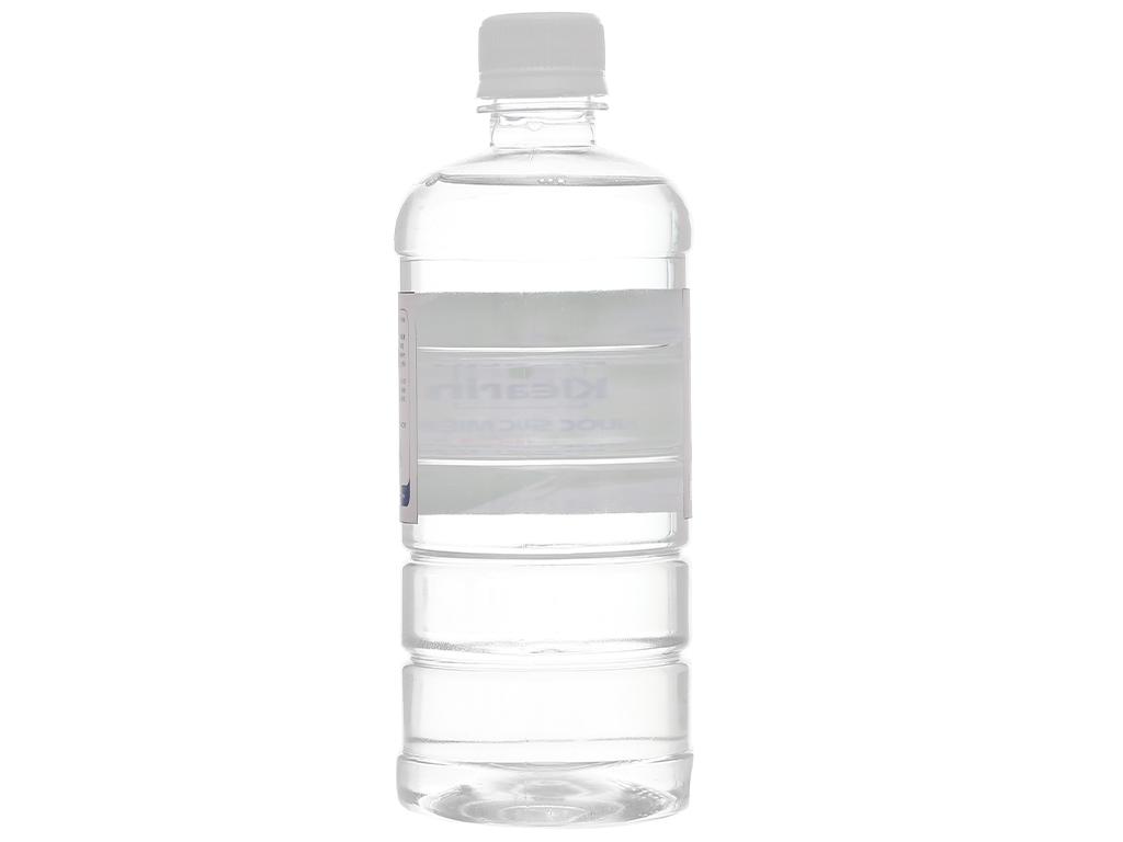 Nước muối súc miệng Klearin Nacl 0.9% trà xanh 550ml 2