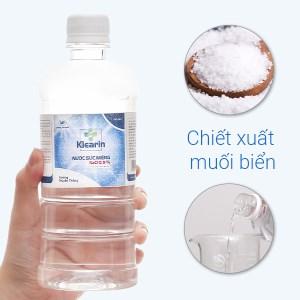 Nước muối súc miệng Klearin Nacl 0.9% truyền thống 550ml