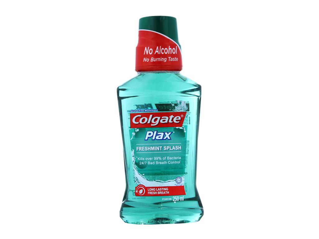 Nước súc miệng Colgate Plax Fresh Mint 250ml 2