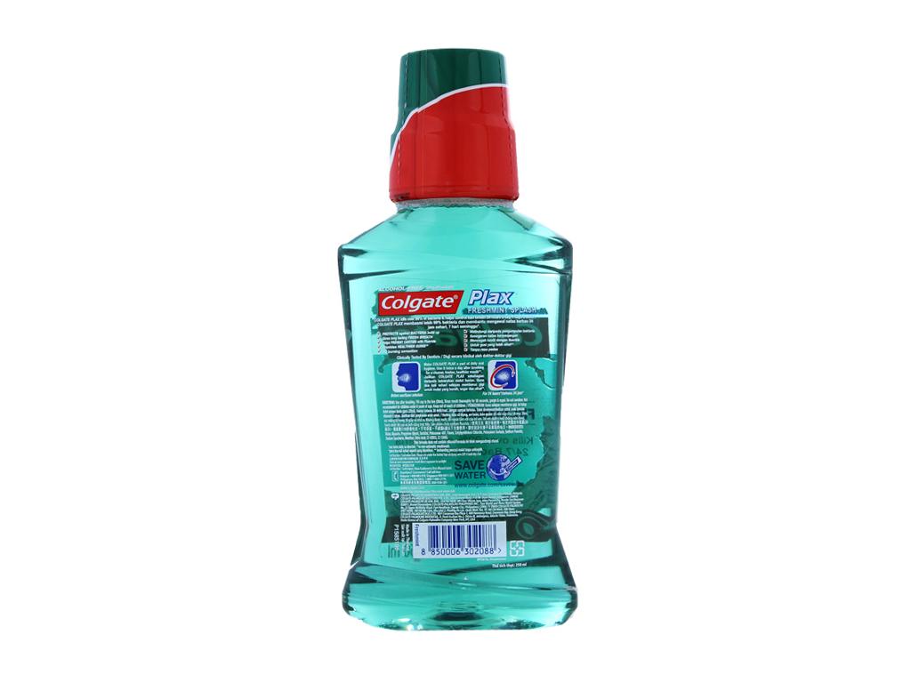 Nước súc miệng Colgate Plax Fresh Mint 250ml 3